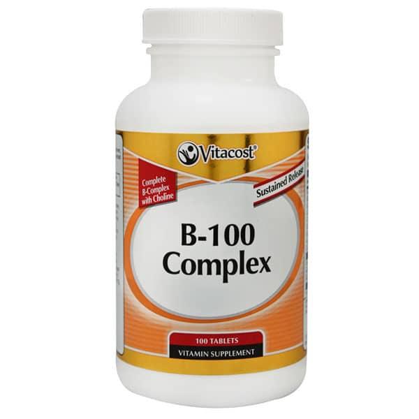 Vitacost B-100 Complex Tablets