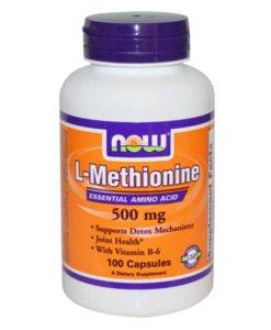 L-Methionine NOW Foods