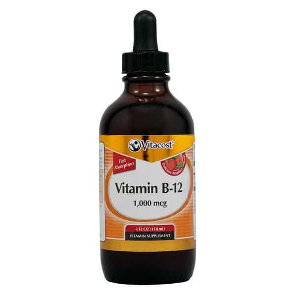 Vitacost B12 Liquid