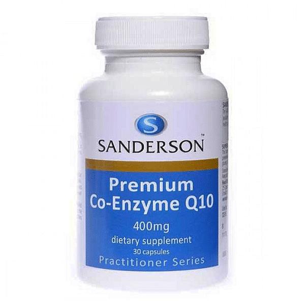 sanderson premium co-enzyme q10 400mg