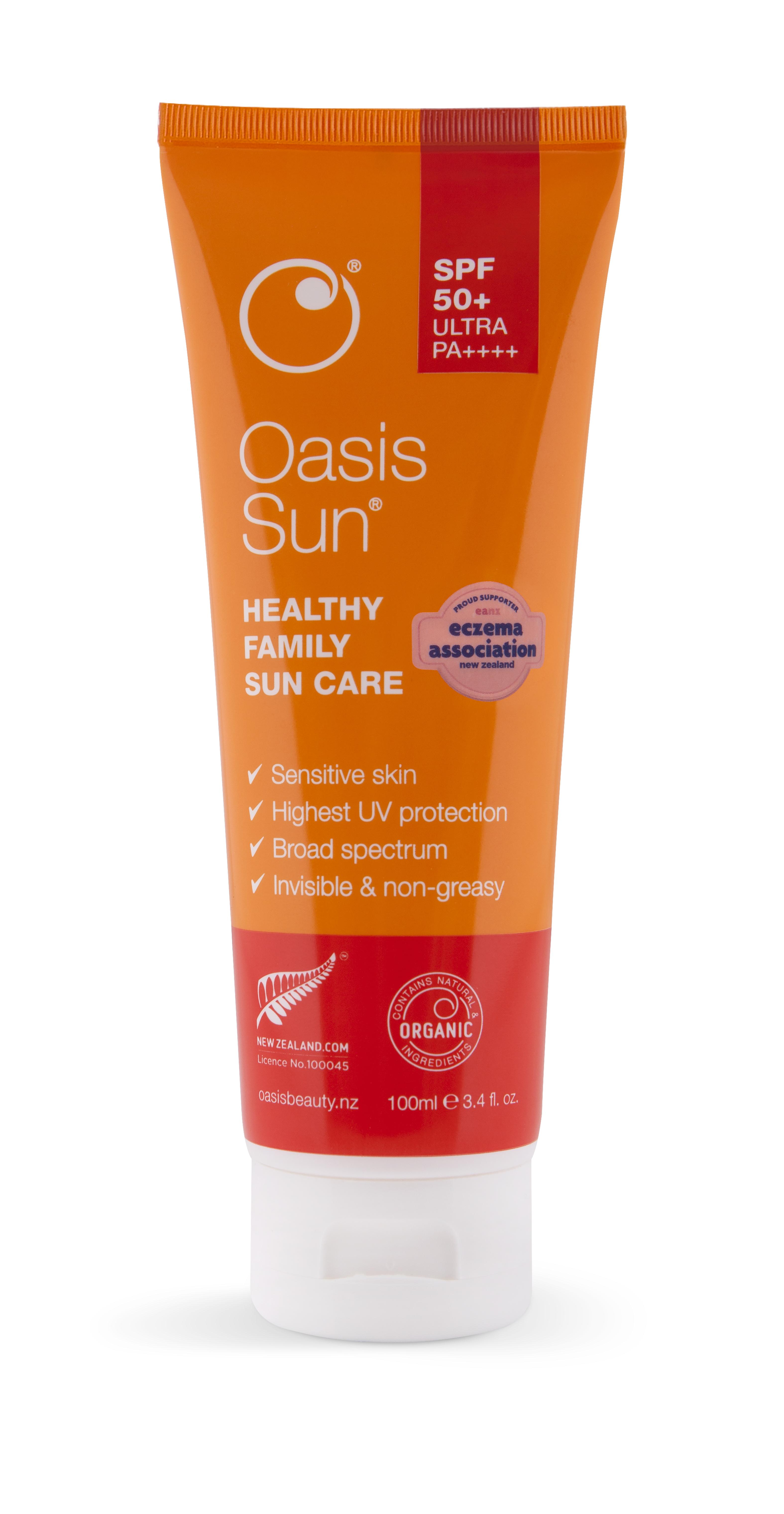 Oasis Sun SPF 50 + Ultra Protection Sunscreen